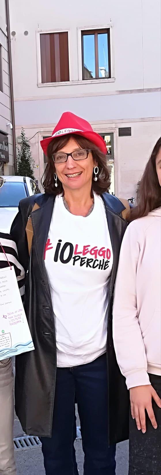 Video intervista Valeria Mancini scrittrice veneto Cultura vicenza amici della bertoliana Gatte Vicentine donne veneto Ilaria Rebecchi Storie di donne