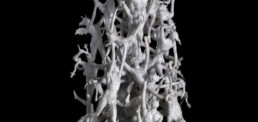 agostino fasolato la caduta degli angeli ribelli magazine donne vicenza veneto donne gatte vicentine statua palazzo leoni montanari