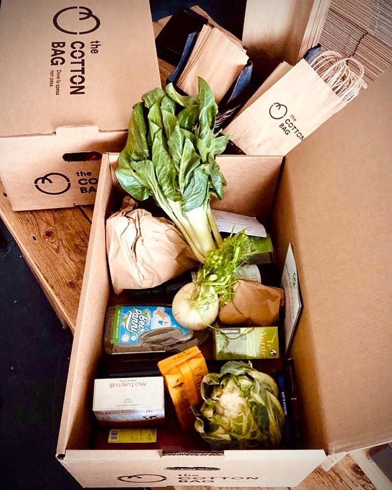 the cotton bag vicenza spesa sostenibile frutta delivery online gatte vicentine
